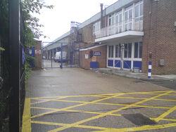 Yard Entrance