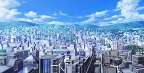 Tokiwadai City -Aerial View