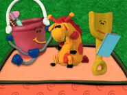 Blue's Clues Shovel and Pail as Vets