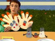 Blue's Clues Mr. Salt and Mrs. Pepper Thankful Book