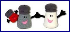 Blue's Clues Mr. Salt Mrs. Pepper Paprika Spice Family Eden Plush Official Image 1998