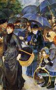 Umbrellas - Renoir