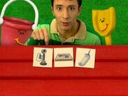 Blue's Clues Pail and Shovel with Cards
