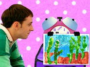 Blue's Clues Tickety Tock Painting