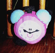Blue's Clues Tickety Tock Clock Toy - Fuzzy Plush