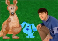 Joe blue and the kangaroo