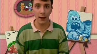 Blue's Clues Adventures in Art