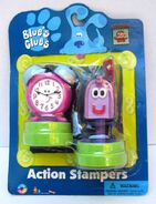 Blue's Clues Mailbox and Tickety Tock Action Stampers