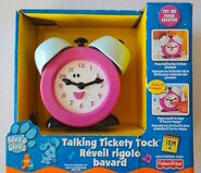 Blue's Clues Talking Tickety Tock Clock Toy
