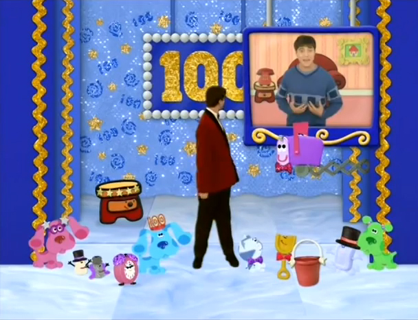 Image 100th episode celebration blue 39 s clues for House music wiki