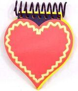 Blue's Clues Heart Shaped Handy Dandy Notebook