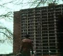 Hartleys' apartment building