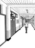 School's Corridor