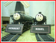 Herbert and Nigel Nameboards