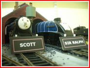 Sir Ralph and Scott Nameboards