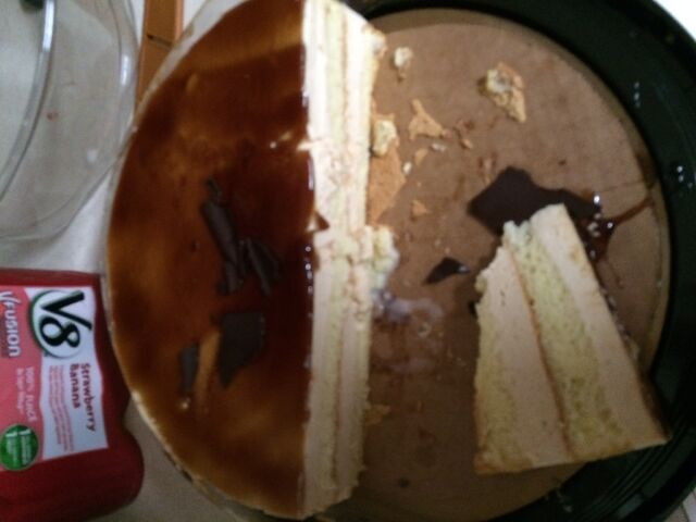 File:Costco Carmel cake.jpeg