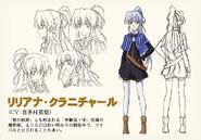 Liliana Kranjcar's Character Design
