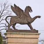 Gryphon statue