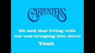 The Carpenters - Ticket To Ride 1973