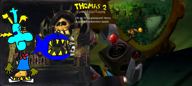 File:Thomas 2 - The Great Escape! - Part 14 - Henry Frankstein is in a graveyard of bonearms!.png