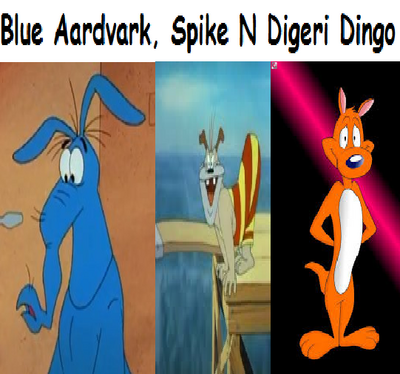 Mr. Blue Aardvark, Spike N Digeri Dingo