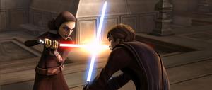 Barriss vs Anakin - TWJ