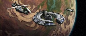 Blockade over Ryloth