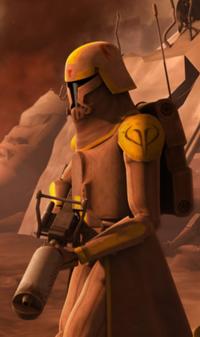 Clone flame trooper