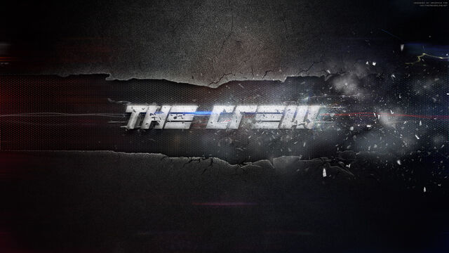 File:The Crew- Distorted Logo Wallpaper.jpeg