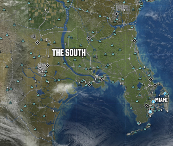 Nissan Of New Orleans >> The South | THE CREW Wiki | FANDOM powered by Wikia