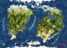 The Agron World Map E