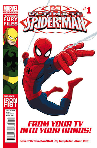 File:MarvelUniverseUltimateSpiderMan 1 Cover.jpg