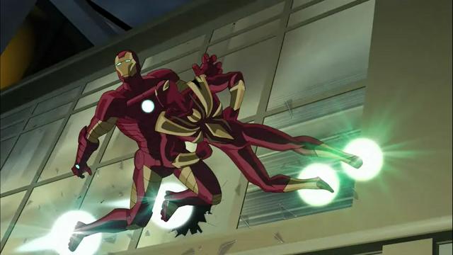 File:Livins Laser attacking Iron Man.png