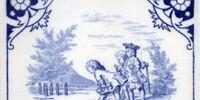 Regency Children - Minton Hollins & Co.