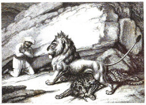 3. The Lion the Tiger and the Traveller