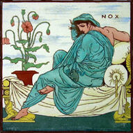 Times of Day - Nox - Walter Crane - Maw & Co