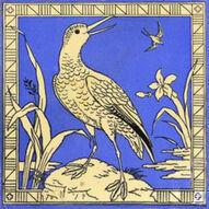 Bird blue 8