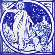Christ Appearing to Mary Magdalene - J Moyr Smith - Minton China Works