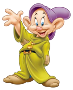 Dopey transparent