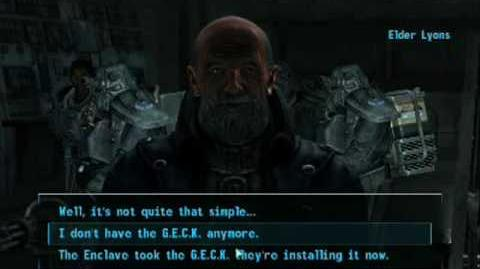 Fallout 3 - How to join the brotherhood of steel