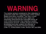 Universal Studios Home Entertainment FBI Warning 3c