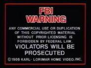 Lorimar Warning 1