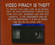 Silver Vision Piracy Warning (1989)