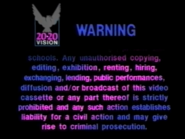 20 20 Vision Warning Scroll (S2)