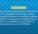 Big Idea Entertainment Warning Screen