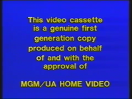 MGM Home Entertainment UK Warning 3a