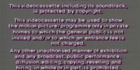 Video Collection International, Lollipop Video and Thames Video Warning Screens