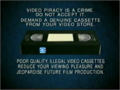 20th Century Fox Home Entertainment Illegal Video Cassettes (2000) (Version 1)
