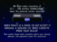 CIC Video Piracy Warning (1988)