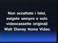 Walt Disney Home Video Italian Piracy Warning (1994) (S6)